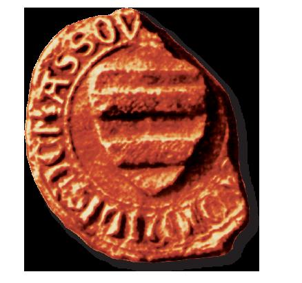 Älteste Wappendarstellung der Familie von Massow als Siegel