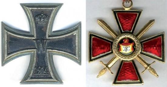 Eisernes Kreuz 1912, Russischer Wladimirorden